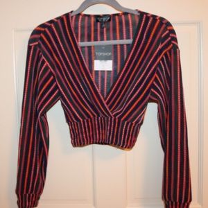 Top shop stripped top